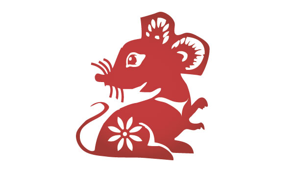Gong xǐ fā cái. Wishing you happiness and prosperity in the year of the Rat.