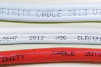 Electrical cable could become fire risk in Australian homes within weeks, ACCC warns.
