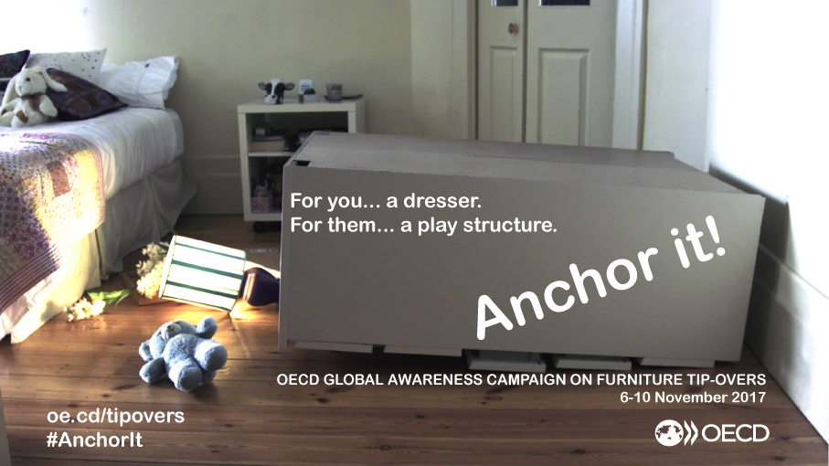 Anchor furniture and large TV's to stop deaths and injuries